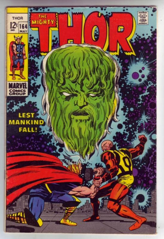 Thor, the Mighty #163 (Apr-69) VG/FN Mid-Grade Thor