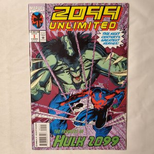 2099 Unlimited 1 Very Fine 1st appearance of Hulk 2099