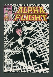 Alpha Flight #3  / 9.2 NM-   October 1983