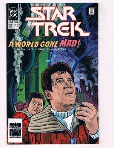 """Star Trek #20DC Comic Book """"A World Gone Mad"""" Kirk Spock McCoy Enterprise HH1"""