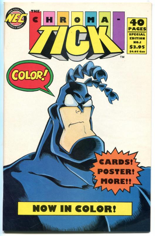 Chroma TICK #1 2 3 4 5 6 7 8, VF/NM, 1992, more Tick in store, New England Press