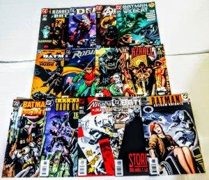 Batman Comic Book Lot of (13) Mixed Titles DC Comics CL#050
