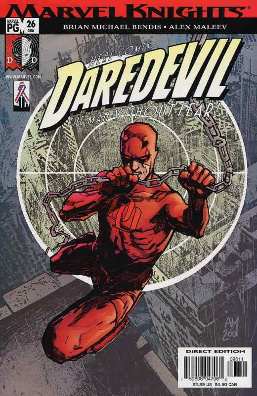 NM FREE COMBINED SHIPPING Marvel Comics Daredevil #1 Vol 4 2014 VF+