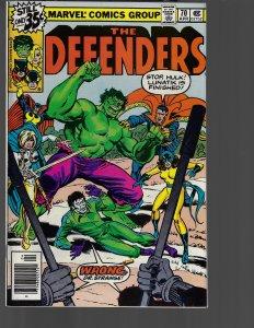 Defenders #70 (Marvel, 1979)NM