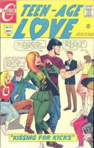 Teen-Age Love #55 VG; Charlton   low grade comic - save on shipping - details in