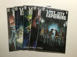 The Lost City Explorers 1-5 1 2 3 4 5 Lot Run Set Nm Near Mint Aftershock