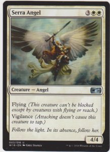 Magic the Gathering: Welcome Deck 2016 - Serra Angel