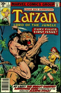 Tarzan (Lord of the Jungle) #1 - VF - Marvel Series (1977)