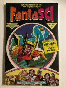 FANTI SCI #2 1986 WARP GRAPHICS / HIGH QUALITY / UNREAD