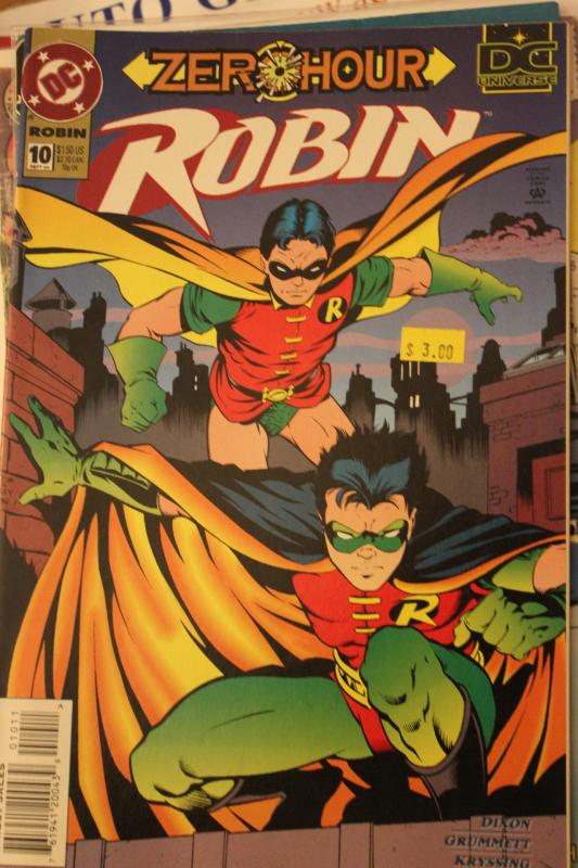 Robin 10 VF/NM