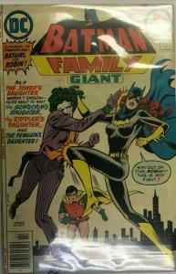 Batman family giant #9 4.0 VG (1977)
