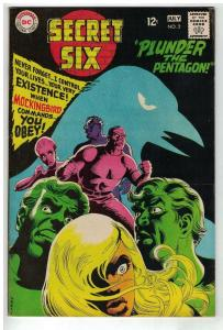 SECRET SIX 2 VG-F July 1968 COMICS BOOK