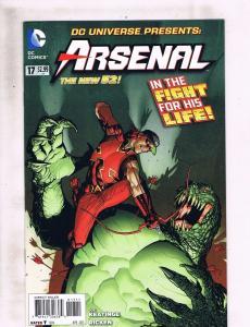 Lot of 2 New 52 DC Universe Presents:  DC Comics #17 18 Arsenal Starfire LH2