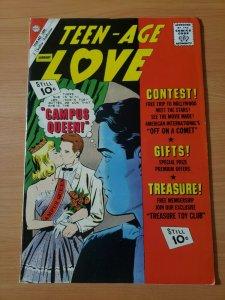 Teen-Age Love #24 ~ VERY FINE - NEAR MINT NM ~ (1962, Charlton Comics)