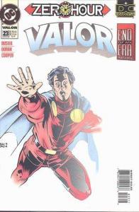 Valor (1992 series) #23, VF+ (Stock photo)
