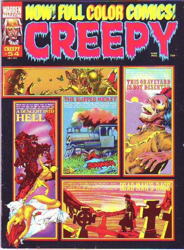 Creepy Magazine #54 (Jul-73) NM+ Super-High-Grade
