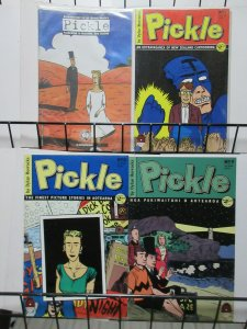 Pickle (Black Eye 1992) #1, 2, 7, 8, 9 Dylan Horrocks Alternative Comix