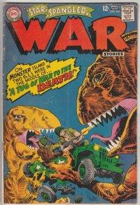 Star Spangled War Stories #136 (Jan-67) VG/FN Mid-Grade Dinosaur