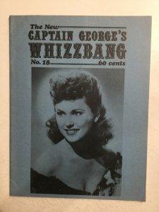 New Captain Geroges Whizzbang No.18 (Vol.4 No.2) Magazine Fn 6.0 Vast Whizzbang