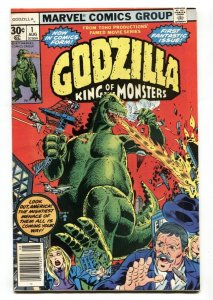 GODZILLA #1 MARVEL 1ST ISSUE-SCI-FI-KING OF THE MONSTERS 1977