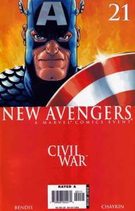New Avengers #21 VF/NM; Marvel | save on shipping - details inside