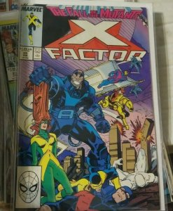X-Factor  # 25 1987 marvel  CYCLOPS ANGEL   FALL OF THE MUTANTS APOCALYPSE