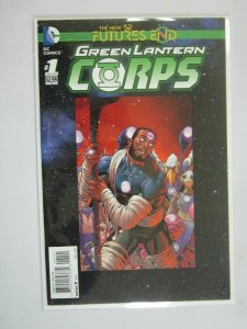 Green Lantern Corps Future's End #1 B variant 8.0 VF (2014)