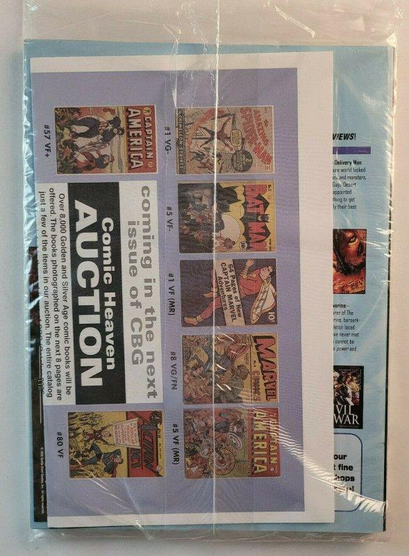 Comics Buyers Guide #1620 Sept 2006 Magazine Catalog Superman Returns New/Sealed