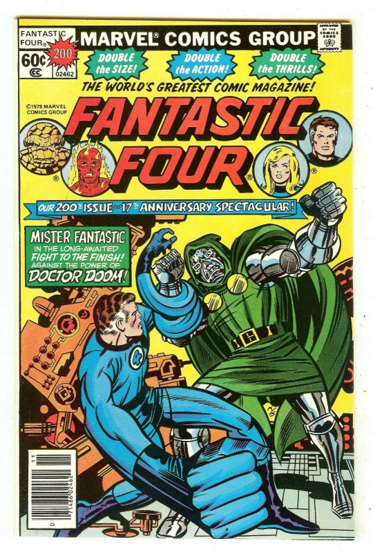 Fantastic Four 200   Fantastic Four Reunited vs Doctor Doom