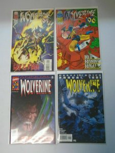 Wolverine Annual 4 different issues 8.0/VF (1995-2001)