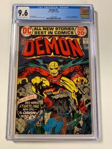 Demon 1 Cgc 9.6 Ow/w Pages 1st Appearance Of Etrigan Jack Kirby Dc Comics