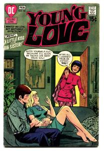 YOUNG LOVE #84 DC ROMANCE-GOOD ISSUE-GREAT COVER-NICE VG