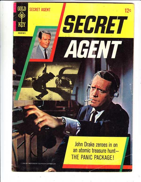 Secret Agent #1 (Nov-66) FN+ Mid-High-Grade John Drake (Patrick McGoohn)