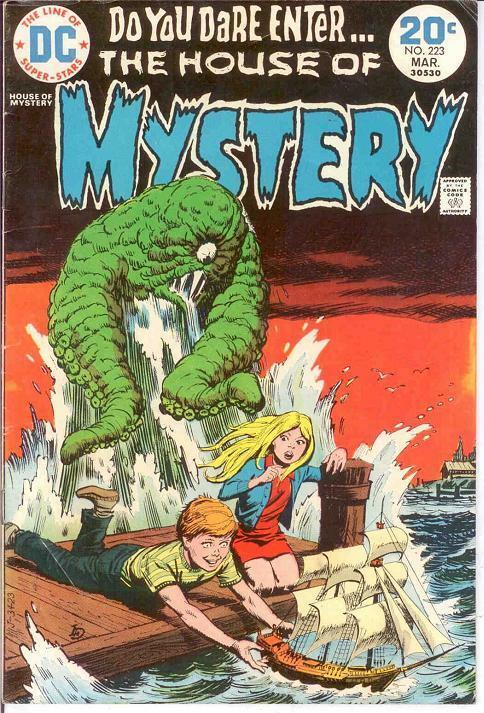 HOUSE OF MYSTERY 223 F-VF  March 1974 COMICS BOOK