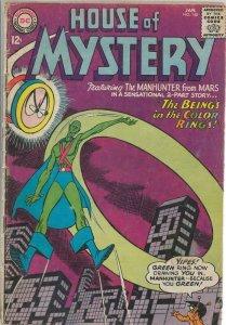House of Mystery #148 ORIGINAL Vintage 1965 DC Comics J'onn J'onzz