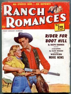 Ranch Romances 1st January 1951-Two Flags West- Hopalong Cassidy VG/F