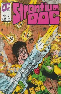 Strontium Dog #6 VF; Fleetway Quality   save on shipping - details inside