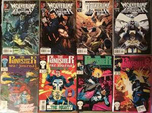WOLVERINE/PUNISHER LOT (8)DAREDEVIL/GHOSTRIDER MARVEL 9.4 N/M+ SPECIAL PRICE