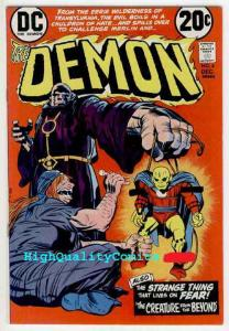 DEMON 4, Jack Kirby, 1972, VF to NM, Transylvania, Merlin, Fear,