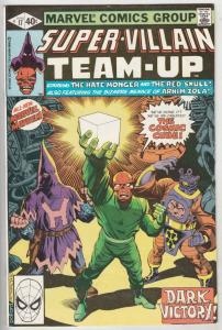 Super-Villian Team-Up #17 (Jun-79) NM- High-Grade Hate Monger, Red Skull