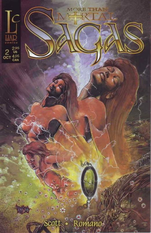 More Than Mortal: Sagas #2A FN; Liar | save on shipping - details inside