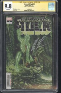 Immortal Hulk #2 CGC SS 9.8 Signed by Alex Ross