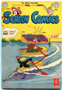 REAL SCREEN COMICS #36 1951- FOX AND CROW FLIPPITY & FL G