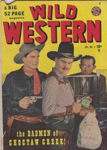 Wild Western 9 FR/GD (Marvel Oct. 1949)