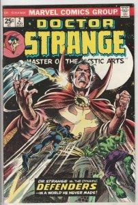 Doctor Strange #2 (Aug-74) VF/NM+ High-Grade Dr.Strange
