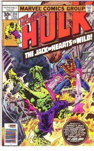 Incredible Hulk #214 (Aug-77) NM- High-Grade Hulk