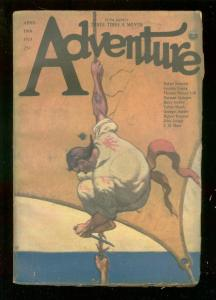 ADVENTURE PULP-APR 10 1923-TALBOT MUNDY-RAFAEL SABATINI VG