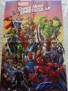 MARVEL SUPER HERO SPECTACULAR Promo Poster, 24 x 36, 2015, MARVEL, IRON MAN, 179