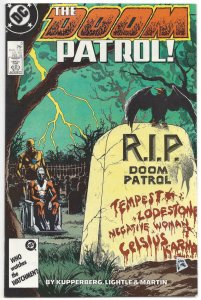 DOOM PATROL #5, VF/NM, Kupperberg, 1987 1988, Robot Man, Chief, more DC in store