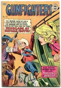 Gunfighters #12 1964- Golden Age Western comic Reprint - VG